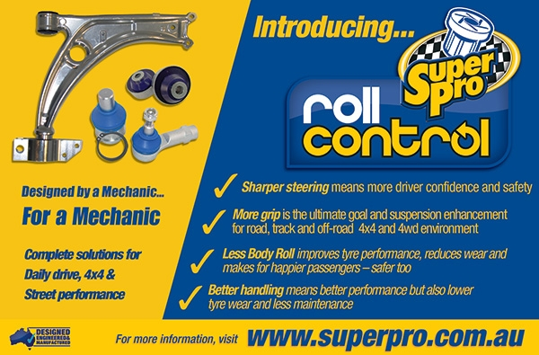 Super Pro/Roll Control Print Ad